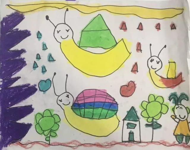 少儿美术作品之小蜗牛.jpeg