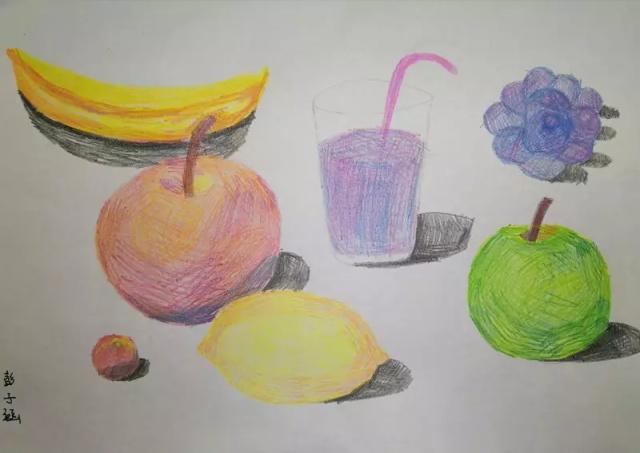 少儿绘画作品水果组合.jpeg