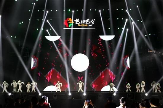 艺朝艺夕艺术节舞蹈演出的孩子