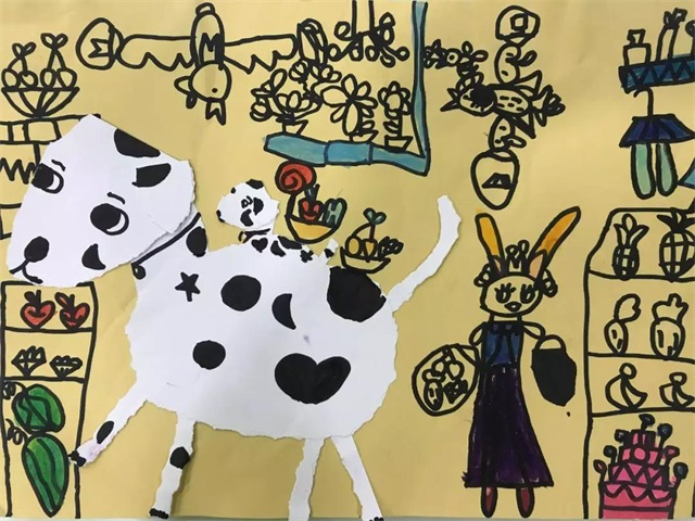 幼儿创意美术