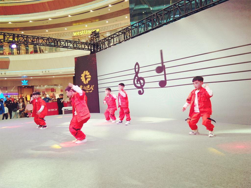 艺朝艺夕街舞学员演出