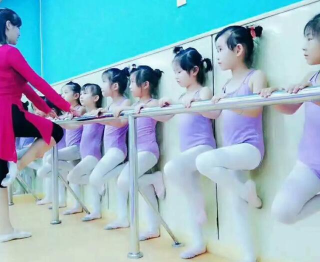 幼儿舞蹈形体练习