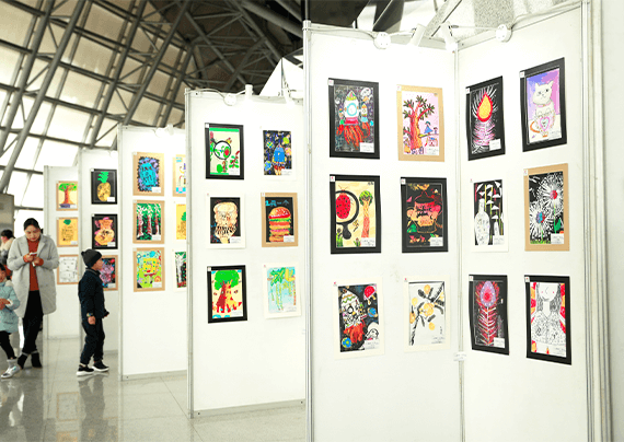 艺术节画展