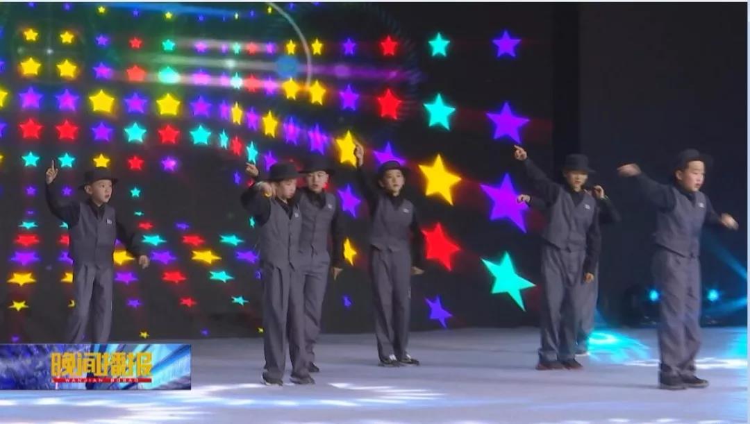 跳街舞的艺朝艺夕学员