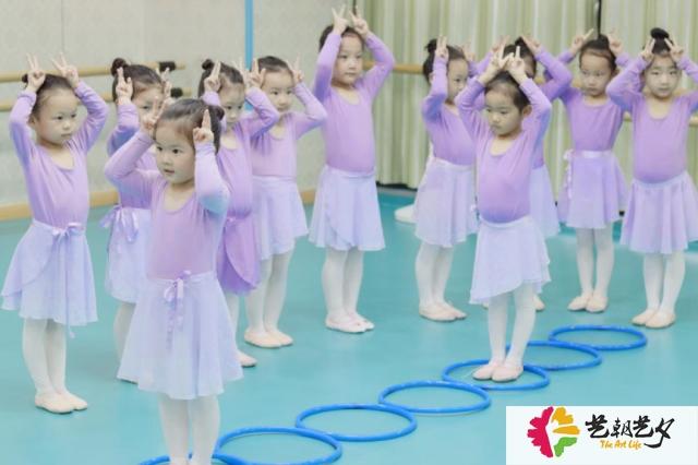 艺朝艺夕幼儿舞蹈学员